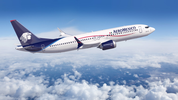 Aeromexico Starts Its New Route Boston – Mexico City