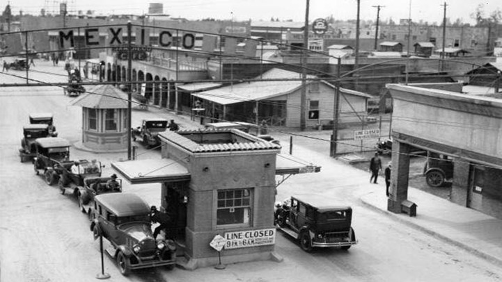 Mexicali-Calexico Port of Entry, 1926