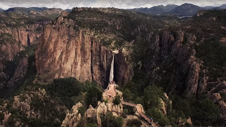 Mexico's scenery: spectacular aerial views