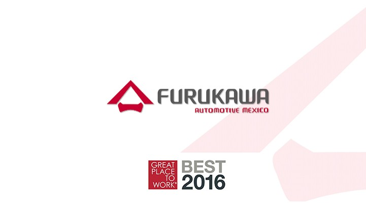 Furukawa Mexicali among the top 100 companies of Great Place to Work 2016