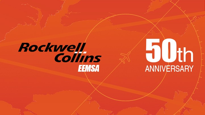 Rockwell Collins-EEMSA 50th anniversary in Mexicali