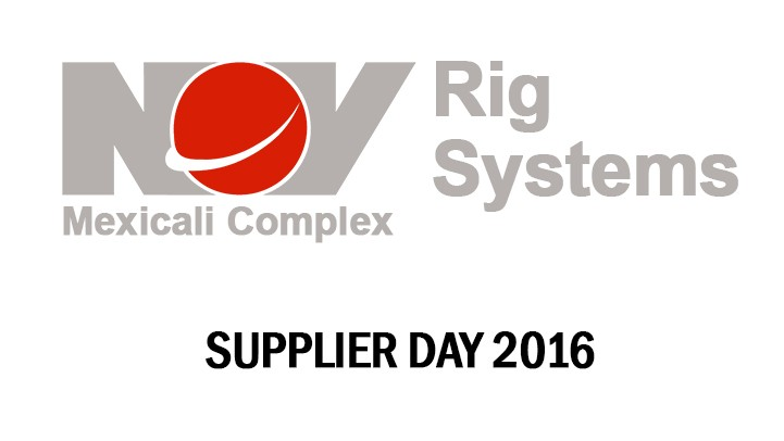 [VIDEO] NOV MEXICALI SUPPLIERS DAY 2016