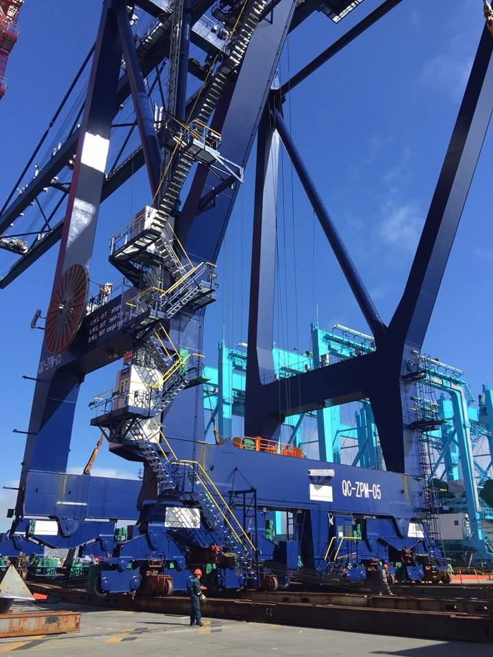 Port of Ensenada Mega Crane - PIMSA Industrial Parks in Mexico 4