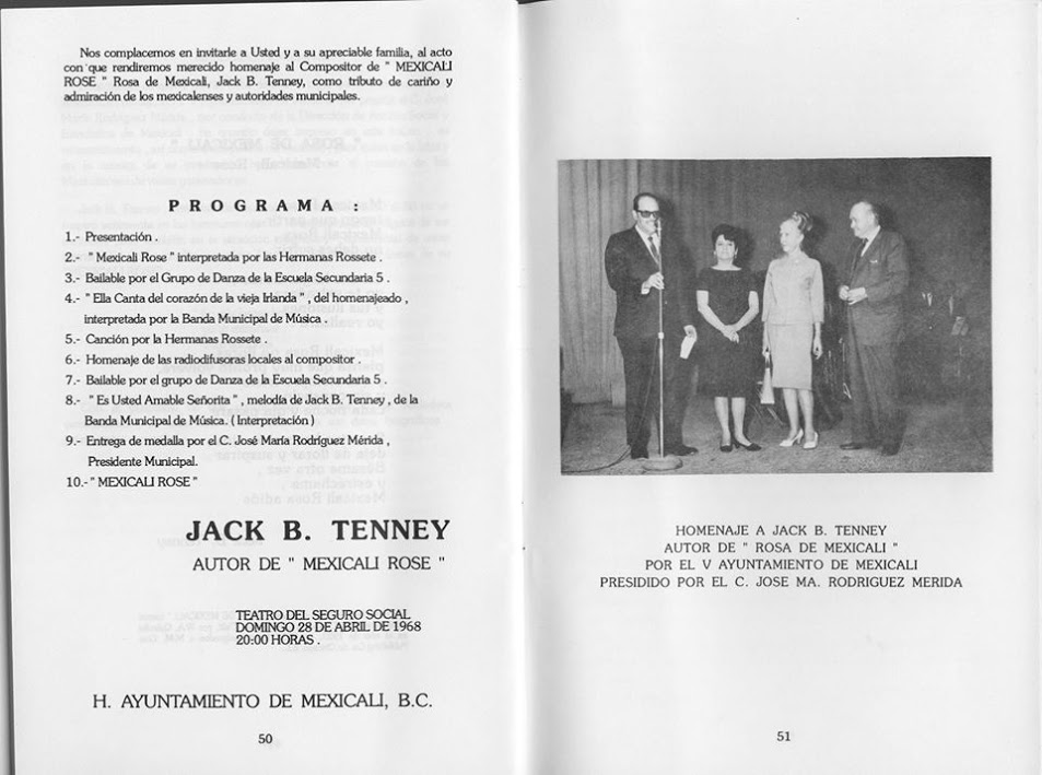 Jack B. Tenney - PIMSA Industrial Parks in Mexico