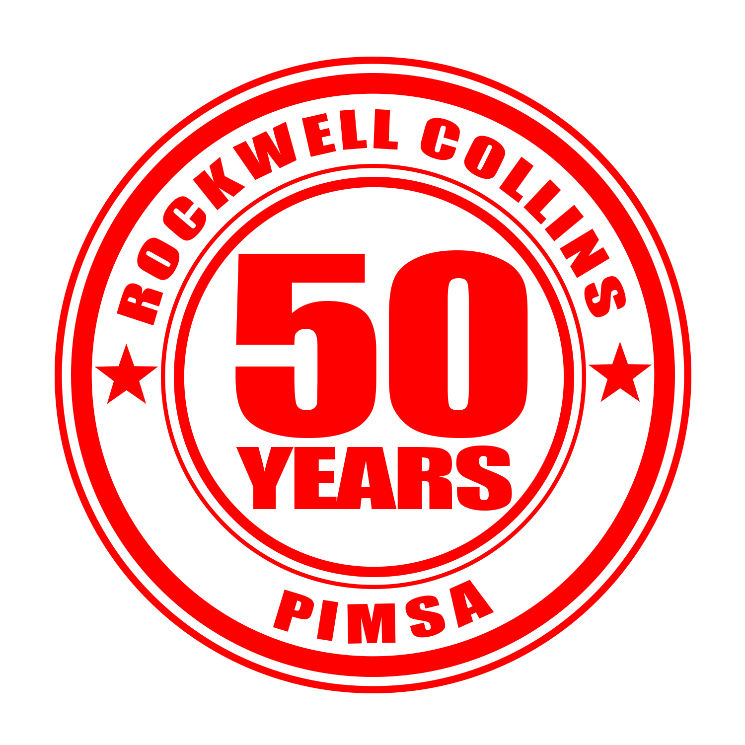 ROCKWELL SELLO PIMSA 50YEARS