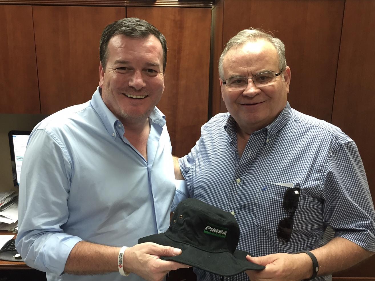 John Renison and Francisco Fiorentini - PIMSA INDUSTRIAL PARKS IN MEXICO